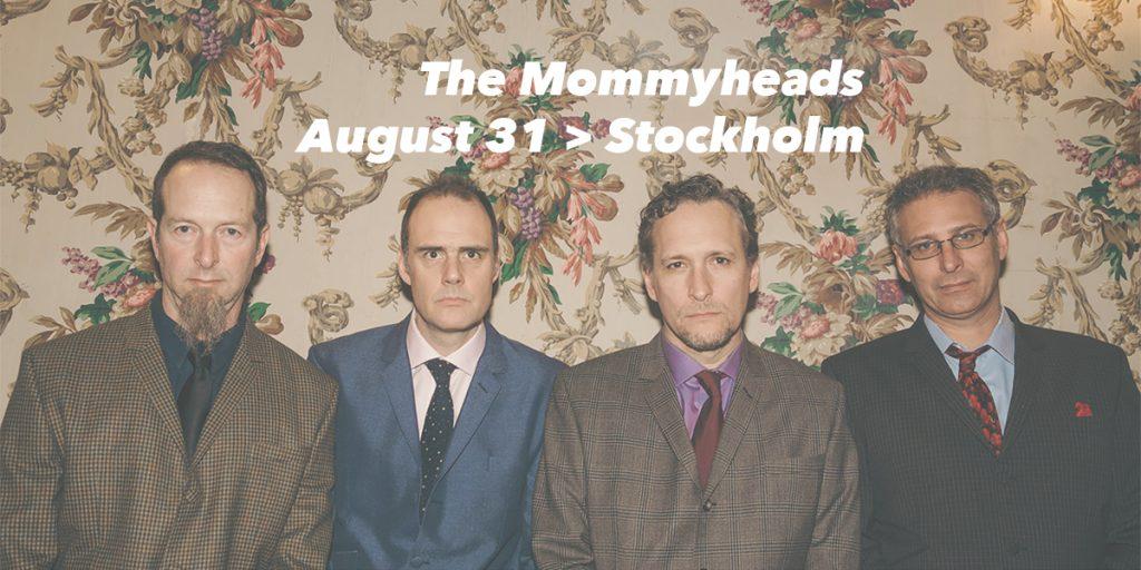 The Mommyheads spelar på Southside Cavern i Stockholm den 31 augusti 2019